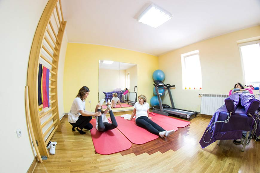 Kinesiotherapy, Physical therapy Belgrade