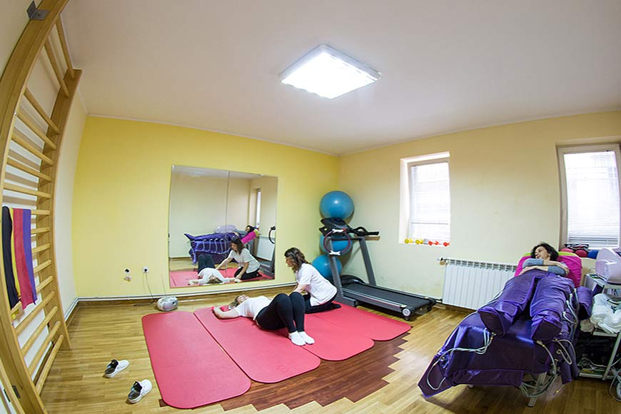 Personalni functionalni traning, Physical therapy Belgrade